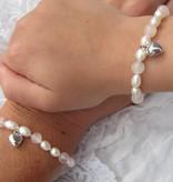 Love Girls Bracelet 'Love' with Heart Charm