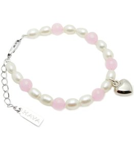 Love Girls Bracelet 'Love' with Heart Charm