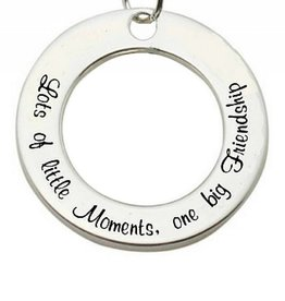 Words of Love (silver) Silver Pendant 'Lots of little Moments...'