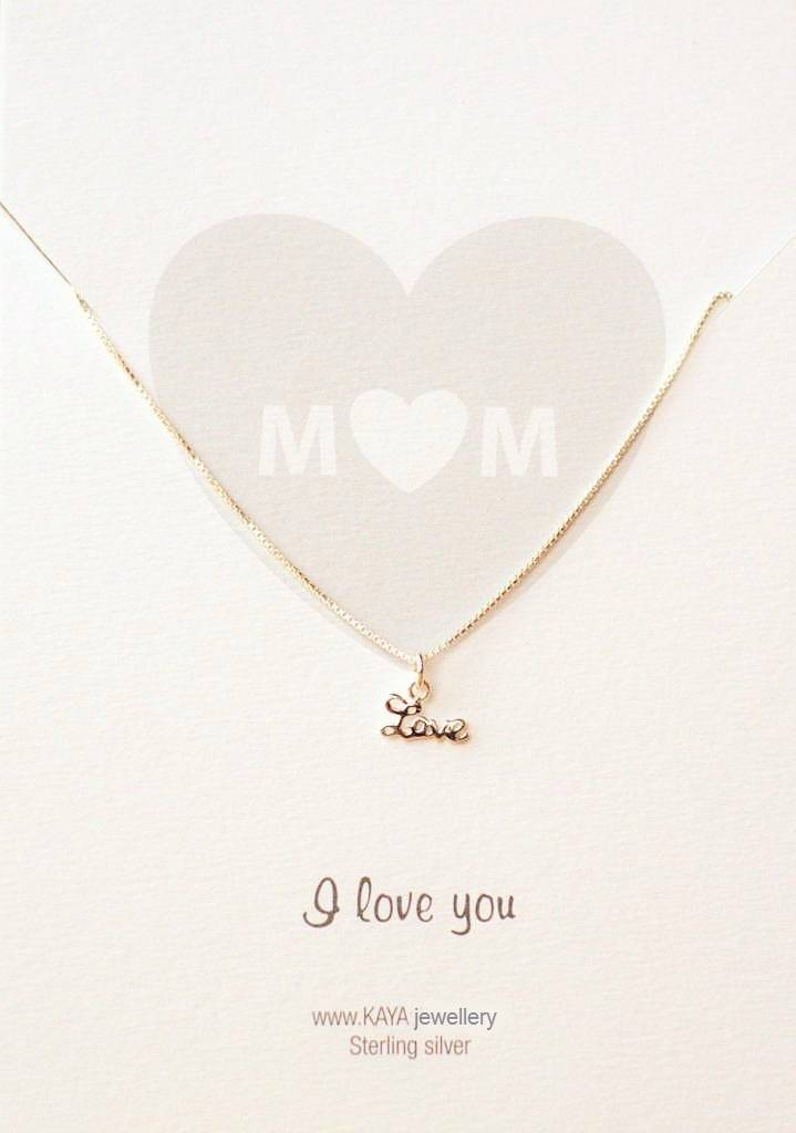 KAYA jewellery Jewellery Card 'M♡M, I love you'