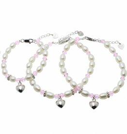 KAYA jewellery 3 Generations Bracelets 'Little Diva' with Heart
