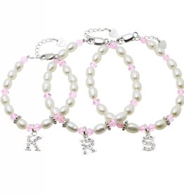 KAYA jewellery 3 Generations Bracelets 'Little Diva' with Initials