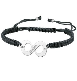 Engraved jewellery Names4ever Silver Names4ever Infinity Bracelet