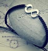 KAYA jewellery Silver Infinity Bracelet