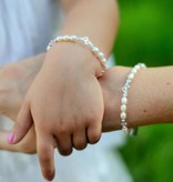 silver jewellery Mum & Me Silver Bracelet 'You & Me forever'