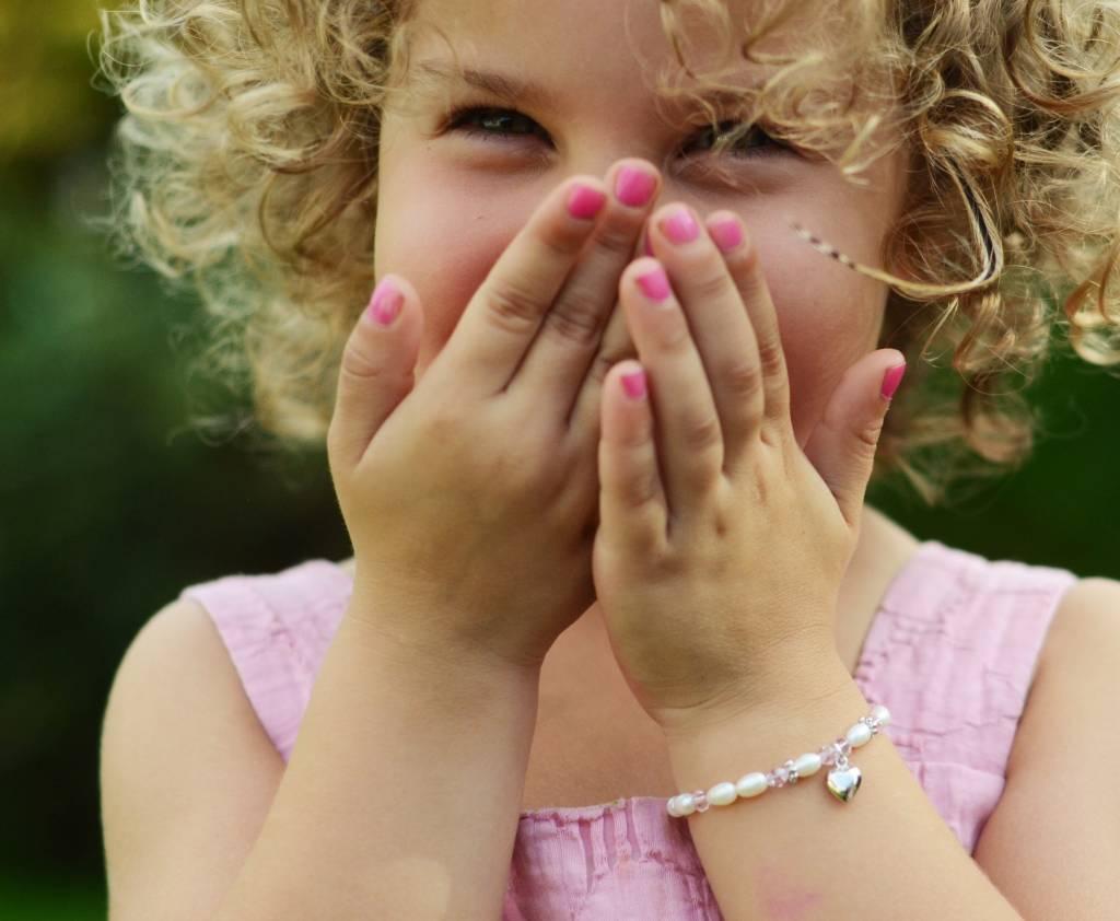 KAYA jewellery Mum & Me Silver Bracelet 'Pure' with Heart