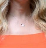 KAYA jewellery Silver Necklace '3 Stars'