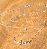 silver jewellery Silver Necklace 'Love'