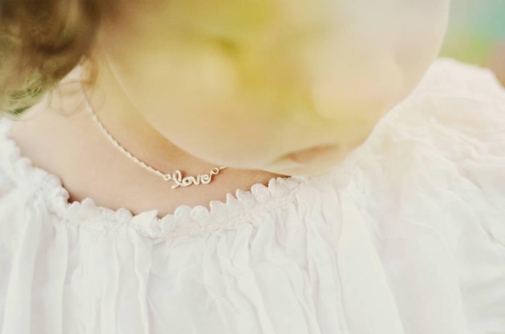 KAYA jewellery Silver Necklace 'Love'