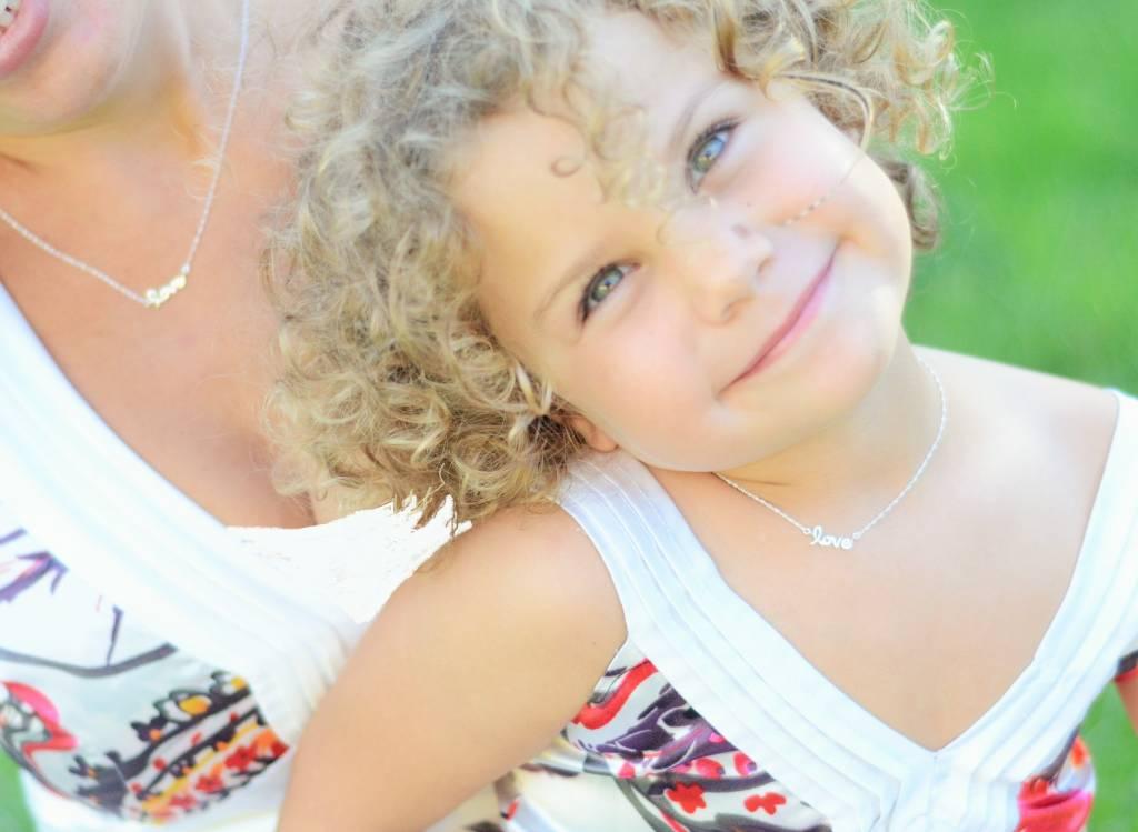 KAYA jewellery Silver Necklace Children  'Love'