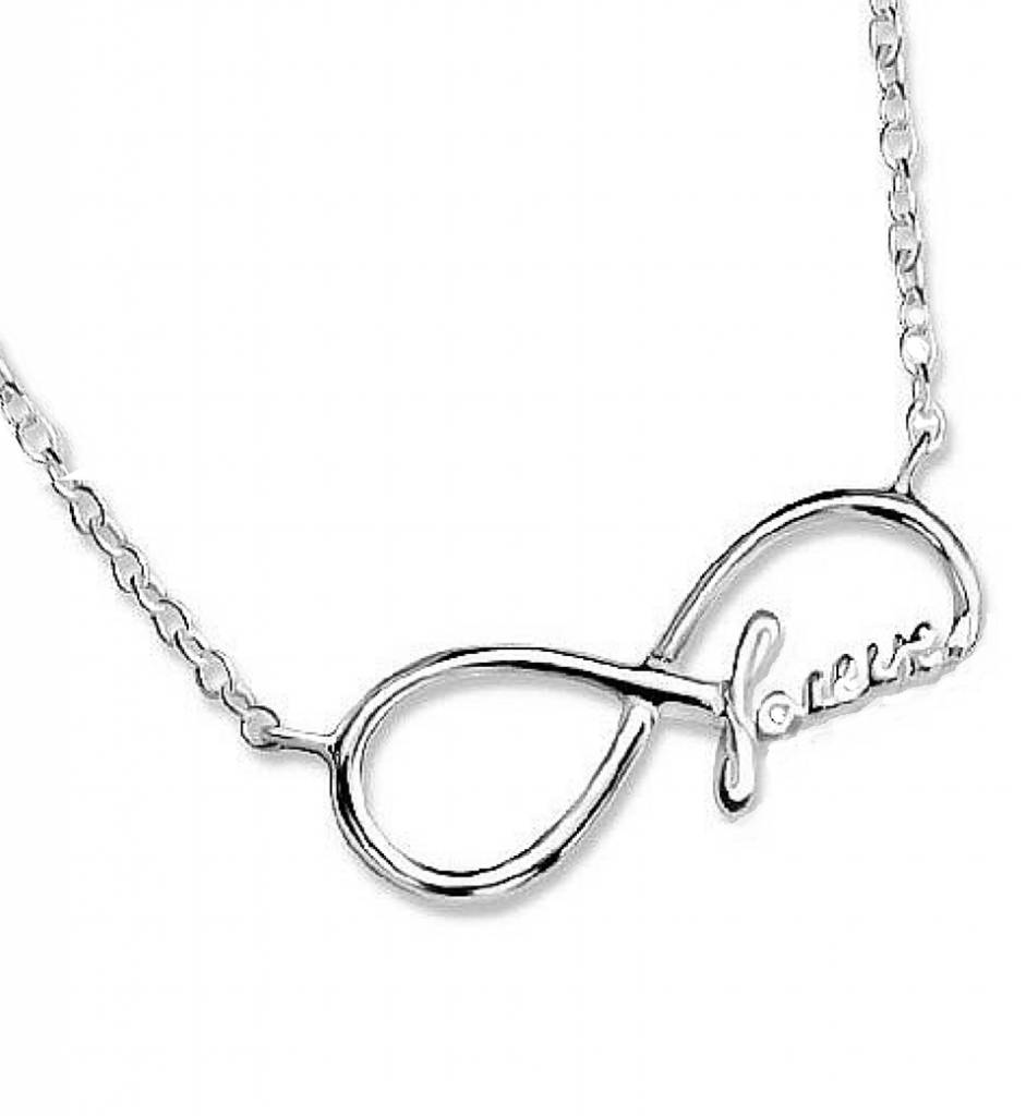 KAYA jewellery Silver Necklace 'Forever'