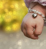 KAYA jewellery Children's Bracelet 'Shine Bright' Initial