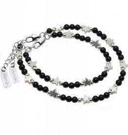 Shine Bright Mother & Son Bracelet 'Shine Bright' Black