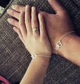KAYA jewellery Silver Bracelet 'You & Me'