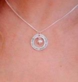Words of Love (silver) Silver Necklace 'The love between Mother & Daughter...'