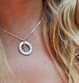 Words of Love (silver) Silver Pendant 'You keep the Key to my Heart'