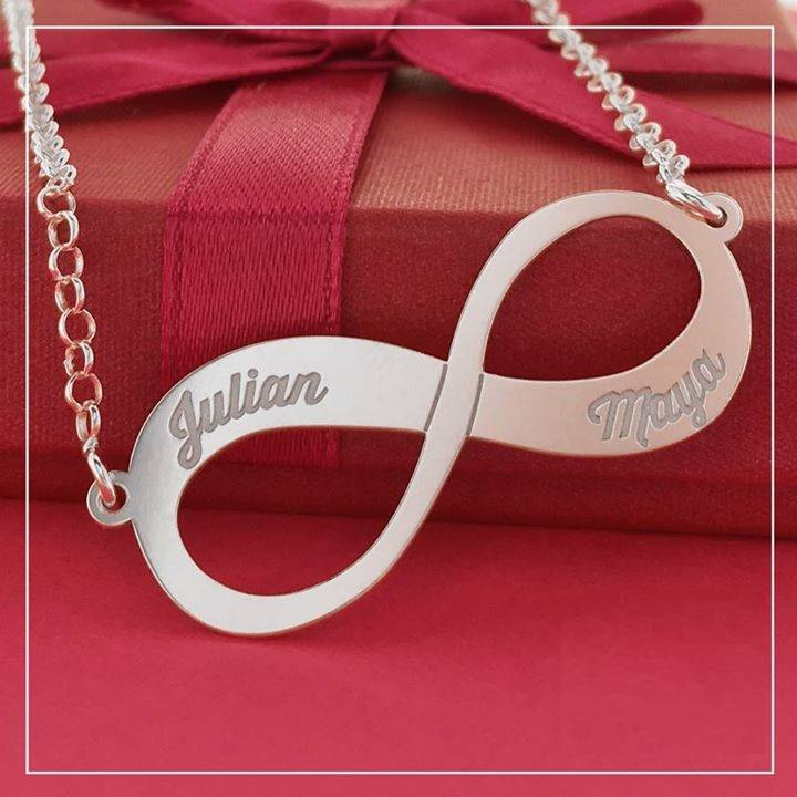 from name deals personalized jewelry in sterling names infinity shop silver with online unique necklace styles
