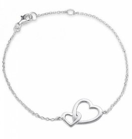 silver jewellery Silver Bracelet 'You & Me'