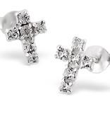 KAYA jewellery Silver Communion Bracelet & Earings 'Little Diva'