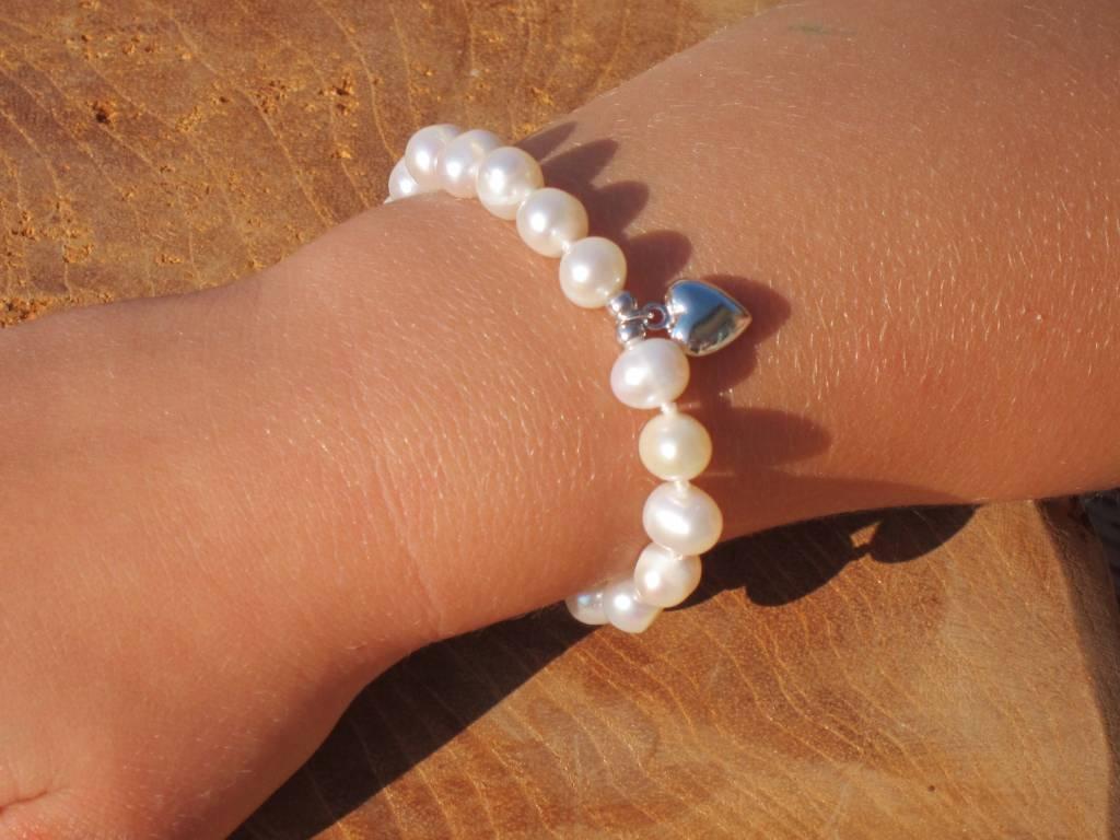 Pure (silver) Silver Communion Bracelet & Earings 'Pure'