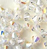 Midnight star (silver) Silver Bracelet 'Sparkles' Crystal Cross & Heart