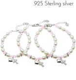 Little Star (silver) 3 Generations Silver Bracelets 'Diva' with Cross