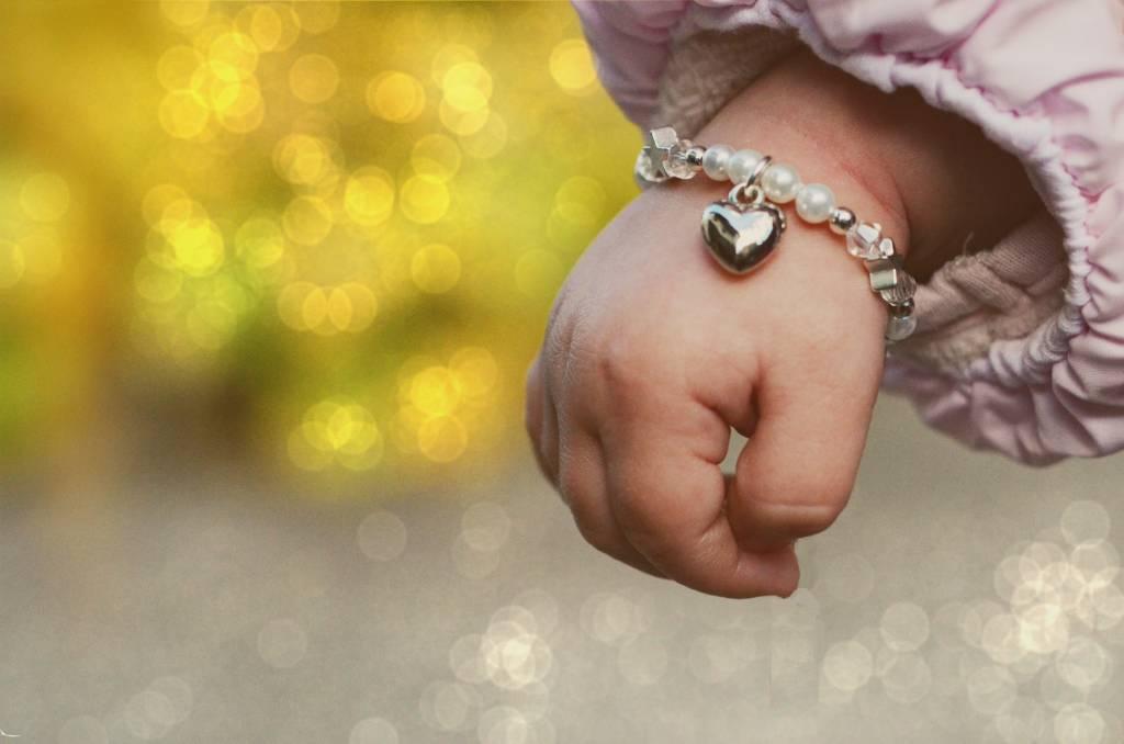 Shine Bright Children's Bracelet 'Shine Bright' Heart