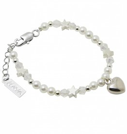 Shine Bright Children's Bracelet 'Shine Bright' Heart