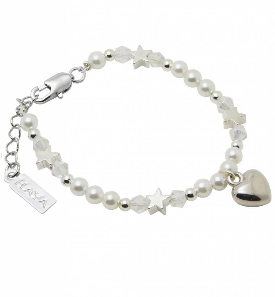 KAYA jewellery Children's Bracelet 'Shine Bright' Heart