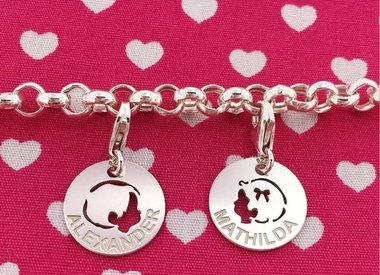Mum Bracelets (silver)
