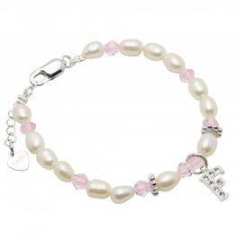 Little Diva (silver) Silver Ladies' Bracelet 'Little Diva' Initial Charm