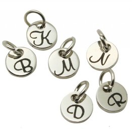 Accent Charms Initial Charms