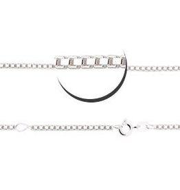 KAYA jewellery Silver venetian necklace (2 lengths)
