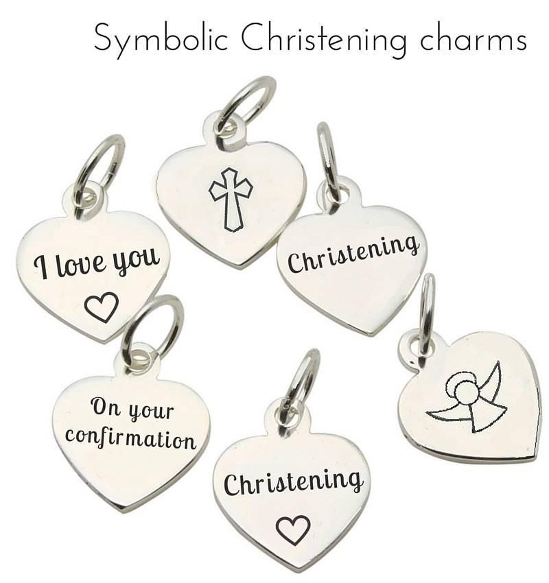 Princess Beautiful Girls Christening - Communion Bracelet 'Princess' with Small Cross Charm