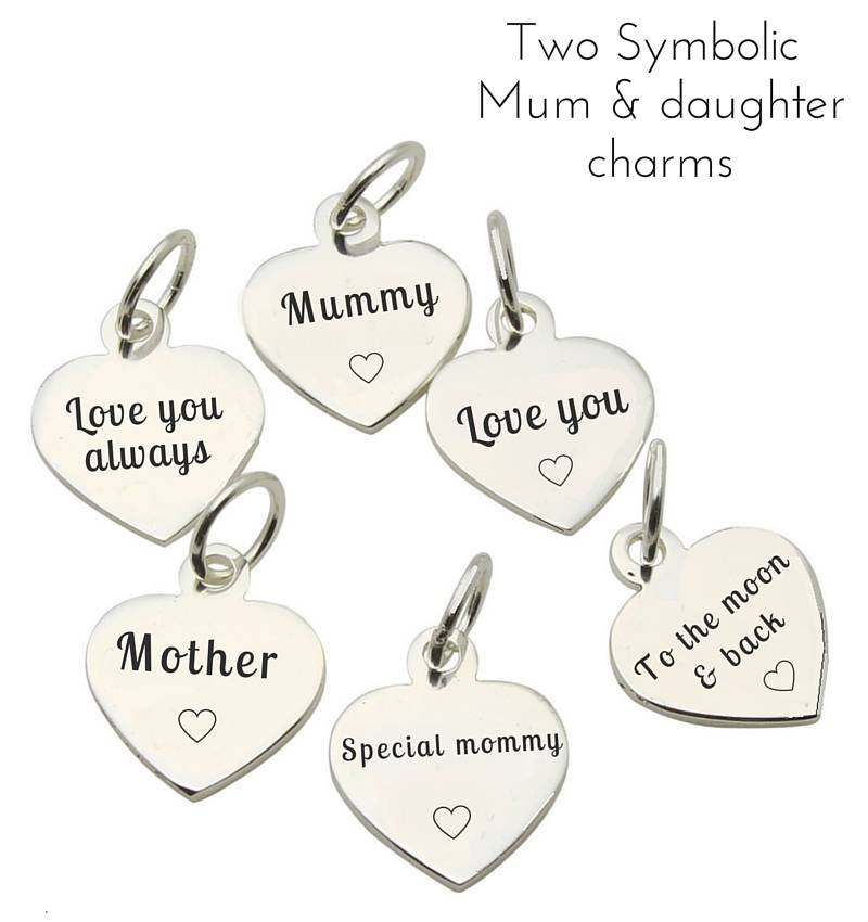 Shine Bright Mum & Me Bracelet 'Shine Bright', Choose Charms