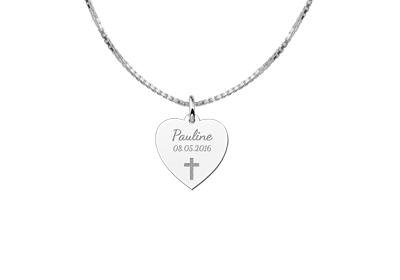 Engraved jewellery Sterling First Holy Communion Gift