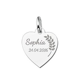Engraved jewellery Engraved Charm Communion Jewellery