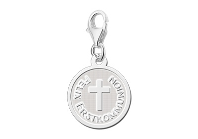 KAYA jewellery Sterling Cross 1st Communion Charm