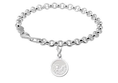Engraved jewellery First Communion Sterling Charm Gift