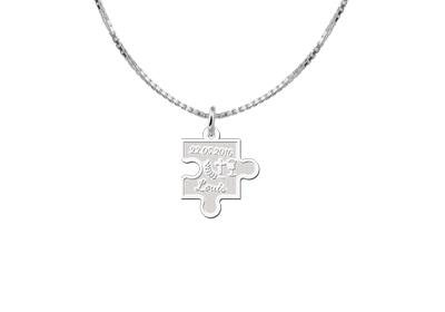 Engraved jewellery Engraved Communion Pendant Puzzle Pendant