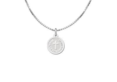 Engraved jewellery Sterling First Communion Silver Cross