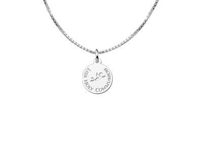 KAYA jewellery Angel Engraved Communion Pendant