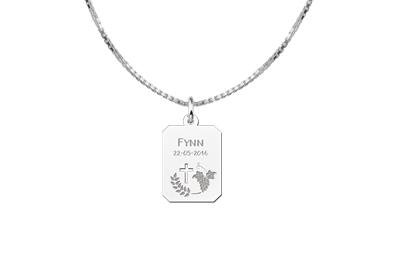 Engraved jewellery 1st Communion Silver Gift for Boys