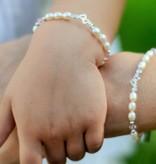 Little Diva (silver) Silver Mom & Me 'you & me forever' Bracelet