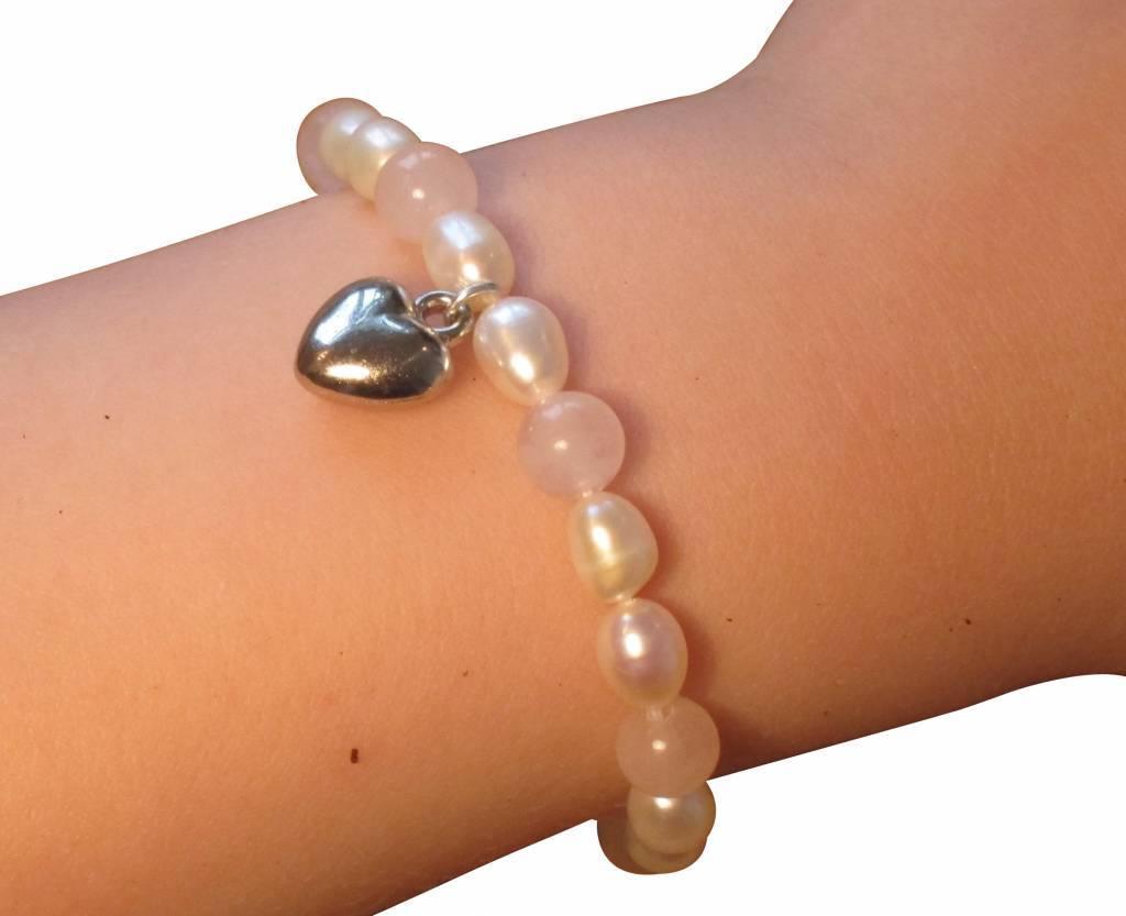 Infinity Silver Mom & Me bracelet 'Precious'