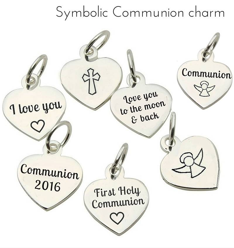 Accent Charms Communion Charms to Personalise your Jewellery
