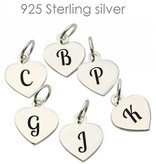 Accent Charms .925 Silver Letter Charms to Personalise your Bracelet - Necklace