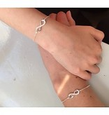 "KAYA jewellery Silver Bracelets set ""Connected to Infinity"""
