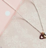 KAYA jewellery Silver Mum & Me Necklace 'Triple love'