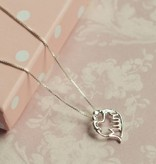 silver jewellery Silver Necklace 'Mum'